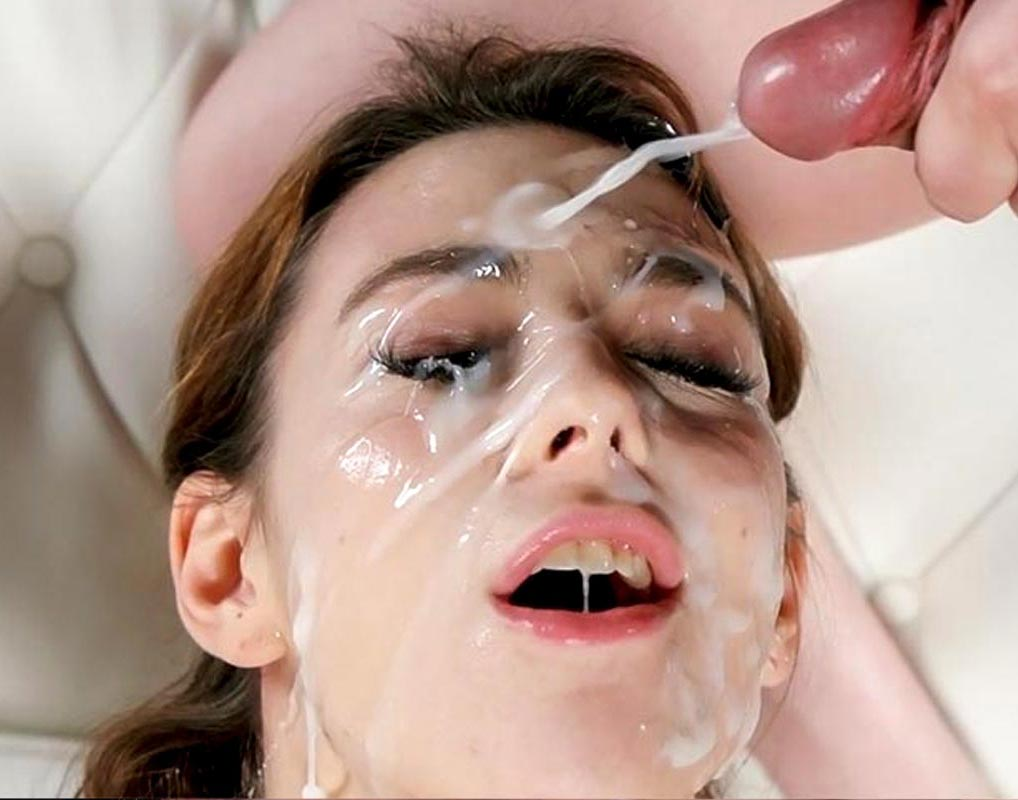 Bukkake | ぶっかけOne girl, many cumshots, this is the classic Japanese Bukkake video featuring a single female performer getting her face covered with cum from many facials.