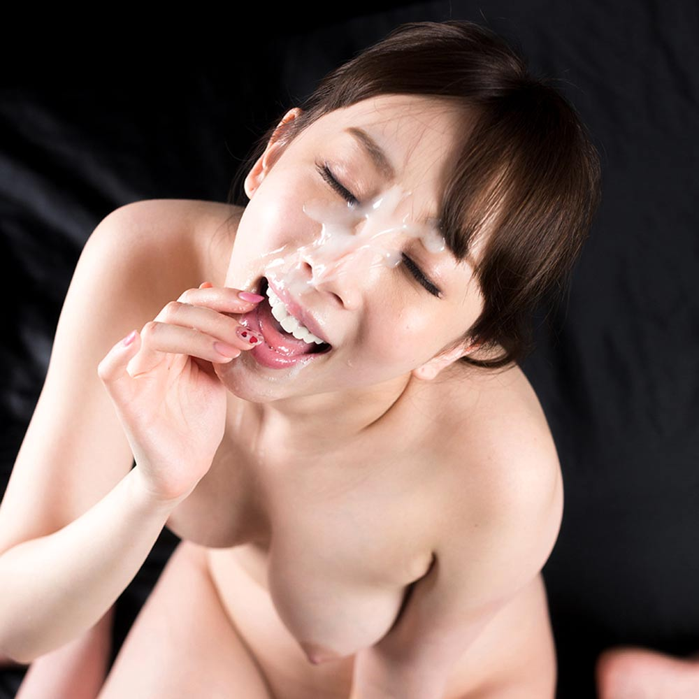 Fellatio Japan, Aya Kisaki receives a cumshot Facial. A nude JAV girl in an uncensored Blowjob video.