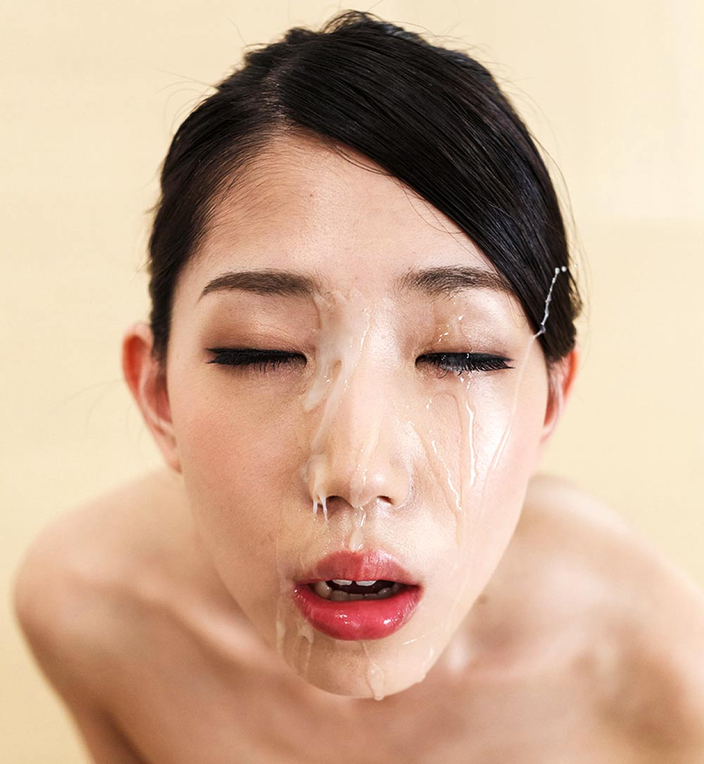 Fellatio Japan, Rio Kamimoto receives a cumshot Facial. A nude JAV girl in an uncensored Blowjob video.