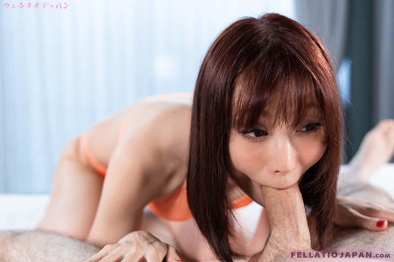 Fellatio Japan Mizuki gives Blowjob. The JAV Bikini girl swallows cum in mouth in an uncensored video from FellatioJapan.