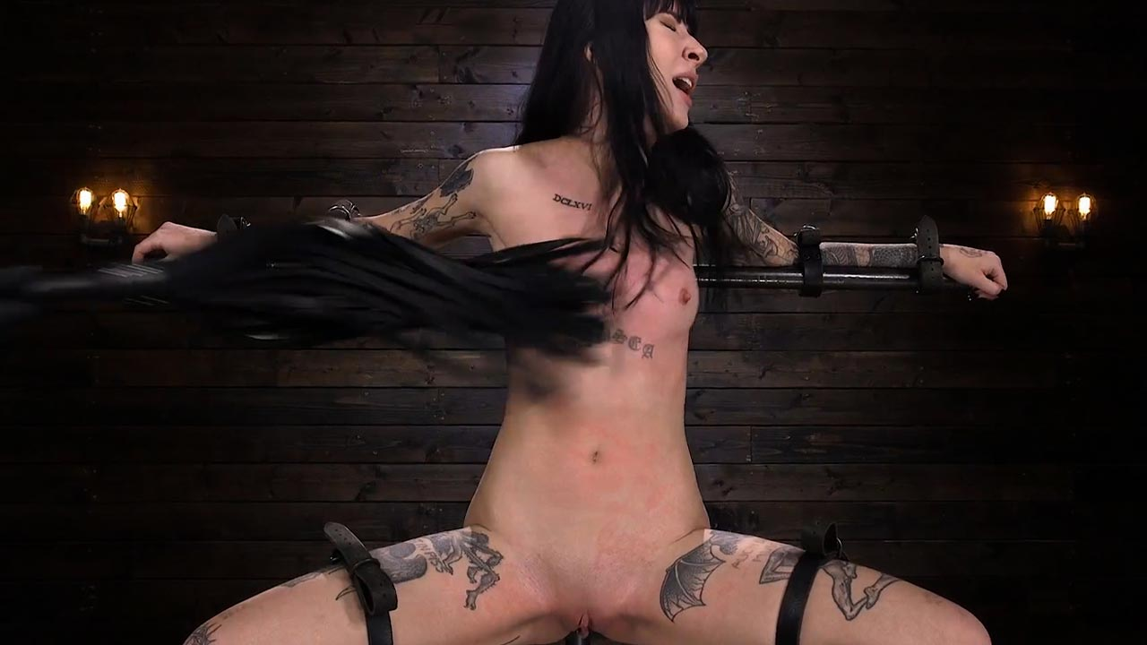 Charlotte Sartre Gothic Torment in Diabolical Bondage. A BDSM video from Device Bondage at Kink.