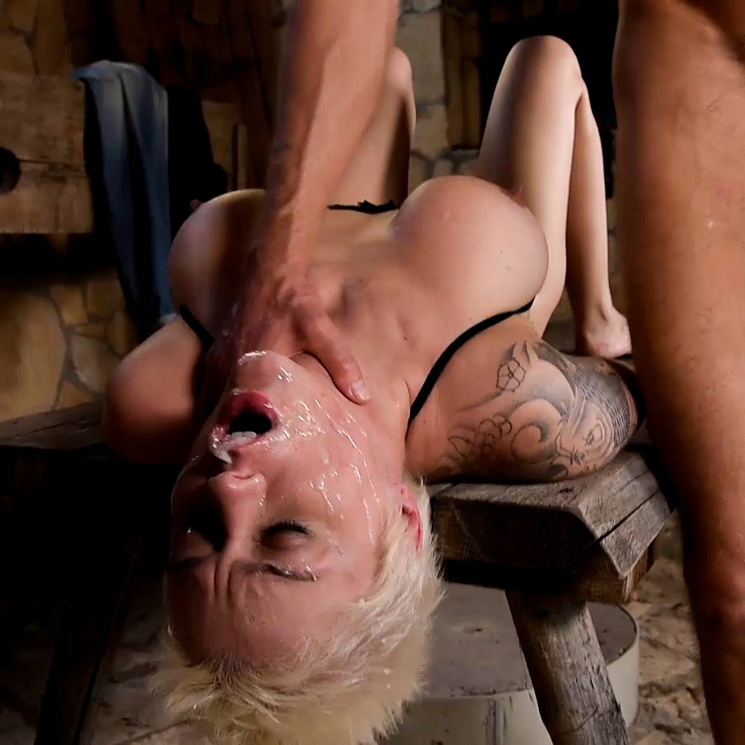 Mila Milan, nude in the Double Penetration BDSM Anal Sex video