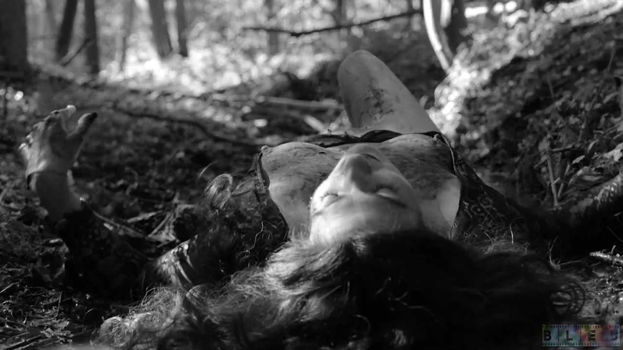 Spit and Ashes by Maria Beatty. A lesbian queer BDSM video. Cinematography by Jo Pollux.